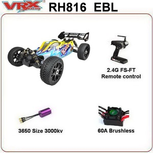 Image 3 - VRX Racing RH816 brushless 1/8 scale 4WD Electric off road rc car,RTR/60A ESC/3650 motor/11.1V 3250mAH Lipo Battery/2.4GHz