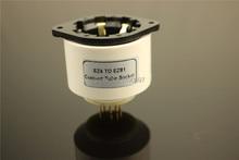 1Piece EZ4 TO EZ81 Convert Tube Socket DIY Audio Vacuum Tube Adapter Socket Converter Free Shipping