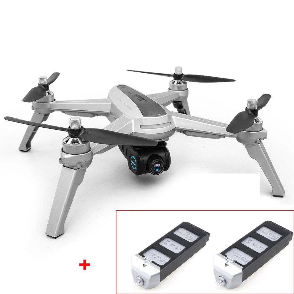 (Con due batterie) JJRC JJPRO X5 EPIK FPV RC Quadcopter con 1080 p Della Macchina Fotografica 5g Wifi GPS Follow Me il Mantenimento di Quota RC drone