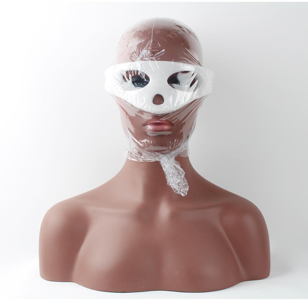 Busto de cabeza de maniquí balck de fibra de vidrio realista para - Artes, artesanía y costura - foto 6