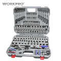 WORKPRO 164PC Tool Set Dopsleutel Set Handgereedschap voor Auto Reparatie Set van Tool Instrumenten Sockets Set Ratchet sleutels Sleutels