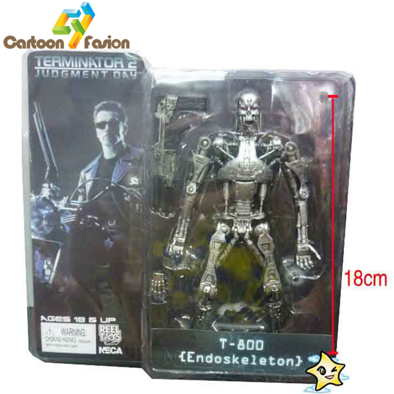 The terminator 7inch 18cm 6style neca the terminator 2 action figure endoskeleton...