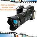 D7100 Cámara 13MP Soporte 33MP Digital Full-HD con Enfoque Automático de 24x Zoom Óptico Teleobjetivo + Lente Gran Angular lente HD Videocámara