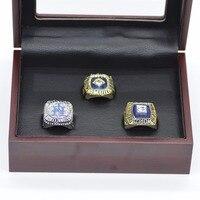 Replica Mets Championship Ring 3PCS Set 1969 1986 2015 New York Mets Baseball Championship Rings For