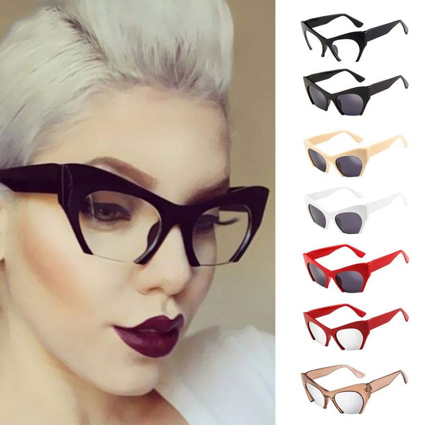 Charitable Professional Cycling Eyewear Mens Womens Retro Vintage Irregular Frame Cat Eye Rapper Sunglasses Eyewear Flawless Spectacles