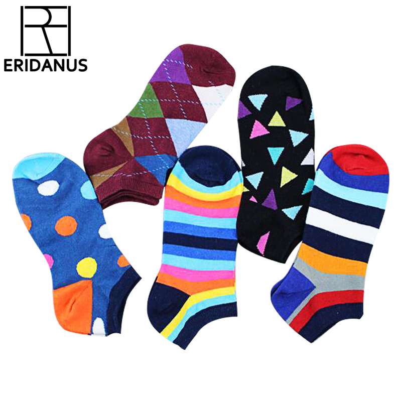 Men's Socks Hot-Sell Socks Slippers Shallow Mouth Invisible 2016 Fashion Trend Hit Color Cotton Casual Breathable Boat Sock M332