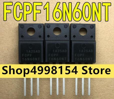 100% 新 & オリジナル FCPF16N60NT FCPF16N60 16N60