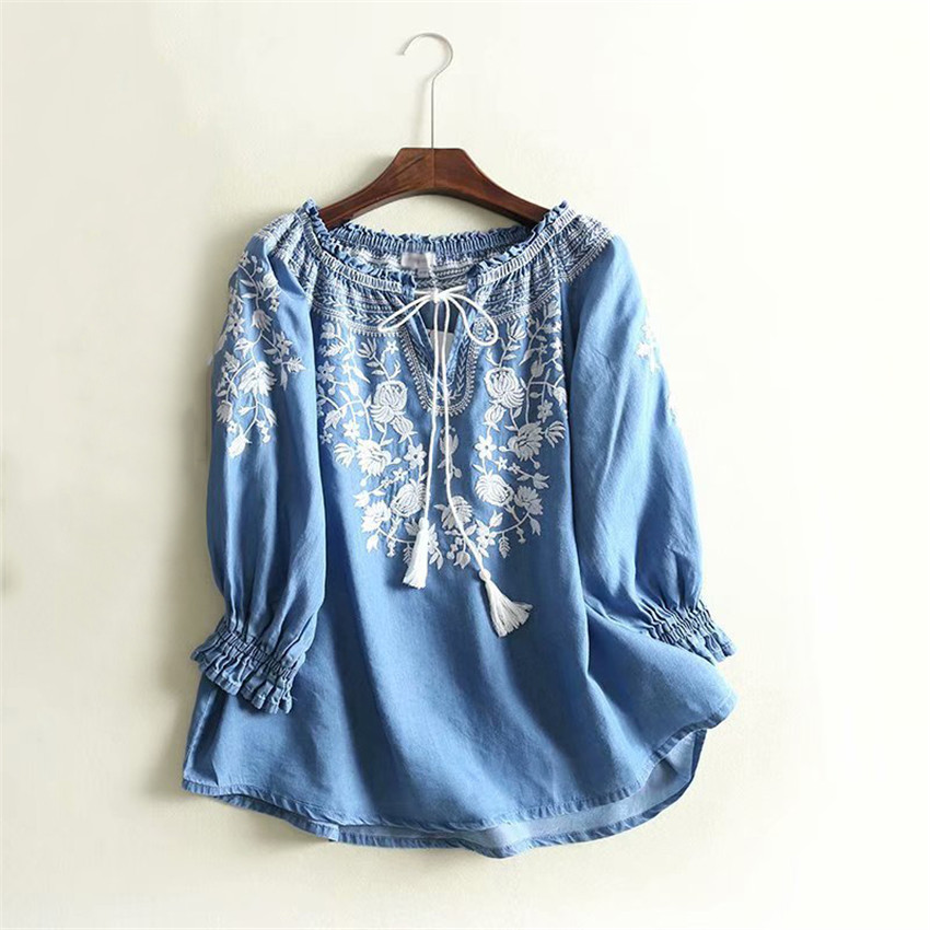 Blouse Tops discount Jeans 9