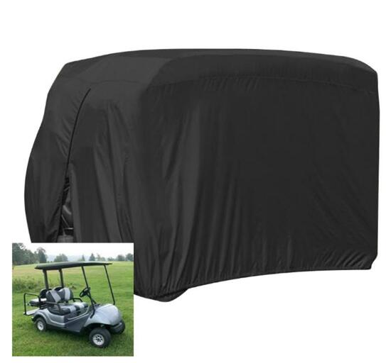 Waterproof 4 Passenger Golf Cart Cover Fits For EZ Go Club Car Yamaha Dust Sunproof(China)