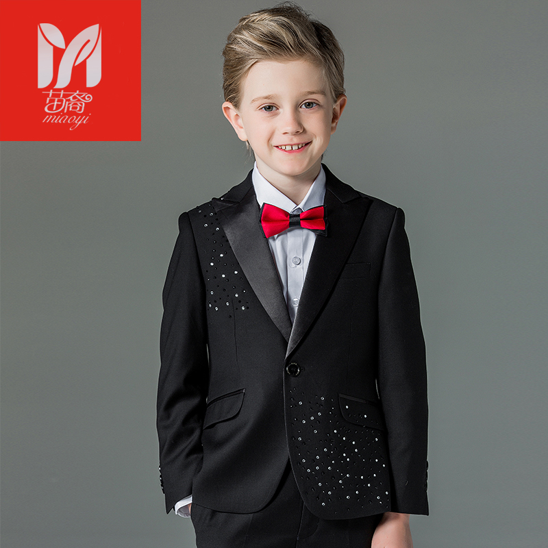 2017 children's leisure clothing sets kids baby boy suits Blazers vest gentleman clothes for weddings formal