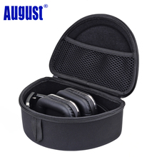 August BAG650 Hard Carrying Headphones Case Bag for August Bluetooth Wireless Headset Portable Headset Pouch Cover Box