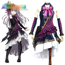 Anime Cosplay Costume BanG Dream 1st live BLACK SHOUT Minato Yukina Dress Z