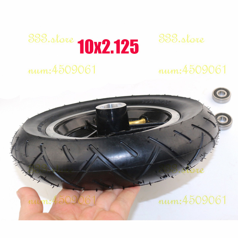 Back To Search Resultsautomobiles & Motorcycles Good Quality 10x2 Inner And Outer Tire Aluminum Rims Hub For 10inch Electric Scooter Balancing Car Wheel Atv Quad Go Kart Jade White Tyres