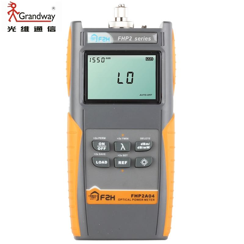 Grandway FHP2B04 Auto wavelengths Recognition Fiber Optic Power Meter
