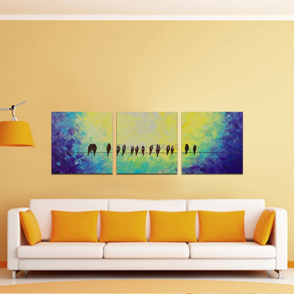 Buy bird on a wire wall art and get free shipping on AliExpress.com
