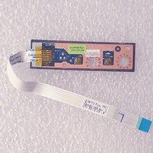 Nova Originais QIWY3 Função Board W/Cabo Para Lenovo IdeaPad Y480 Y485 Y580 Series, FRU 90200367 LS-8002P