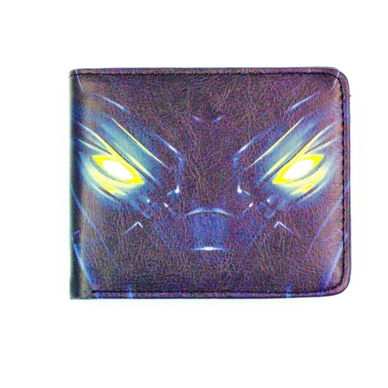 T'Challa Black Panther pu wallets super heros The Avengers Fantastic Four Black Panther purse money zip purse heros 40 деталей