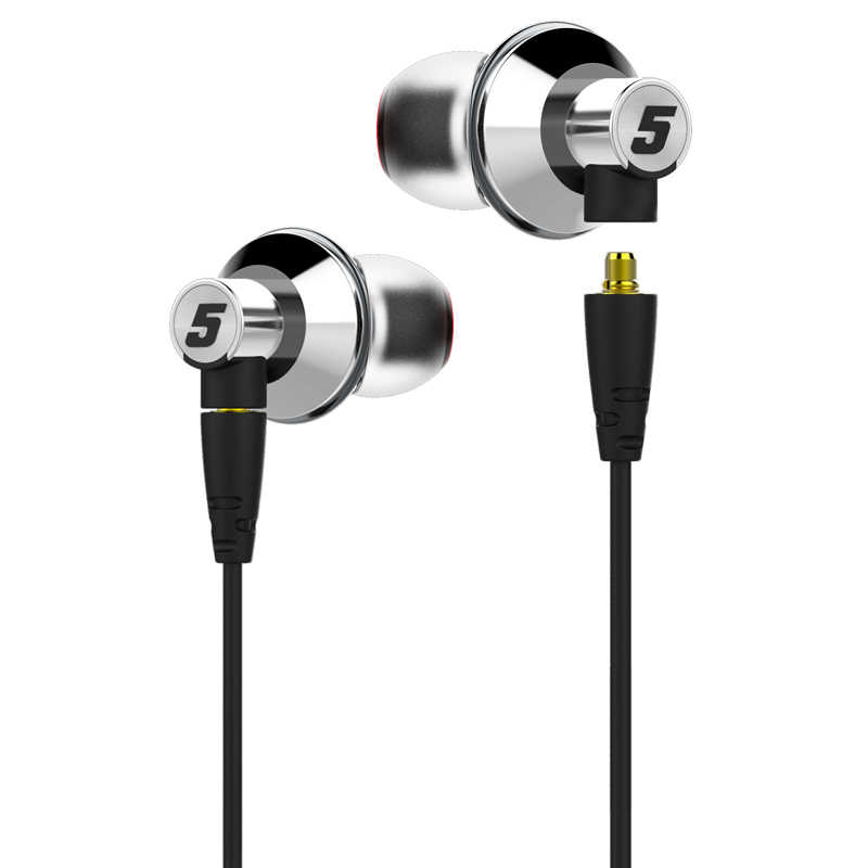 DUNU TITAN5 HiFi Inner-ear Earphone Rich Bass Large dynamic acoustic performance interchangeable cable jack IEM TITAN 5 TITAN-5