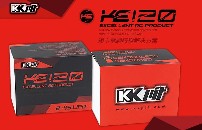 KKPIT KE120 ESC 120A-760A 1/10 scale brushless motor controller monster buggy short-course great hobbyking extreme short course short course brushless motor 120a 2s 4s esc speed controller for 1 8 1 10 suv car