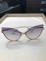 WD1108 2018 luxury Runway sunglasses women brand designer sun glasses for women Carter glasses