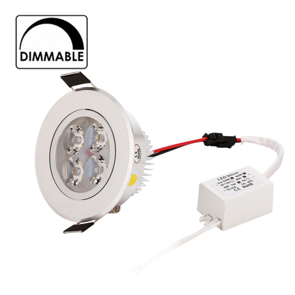50pcs / lot Nové 2015 9w 12W Stmívatelné LED svítidlo AC 120V 220V stříbrná nastavitelná skořápka velkoobchodní nejnižší cena