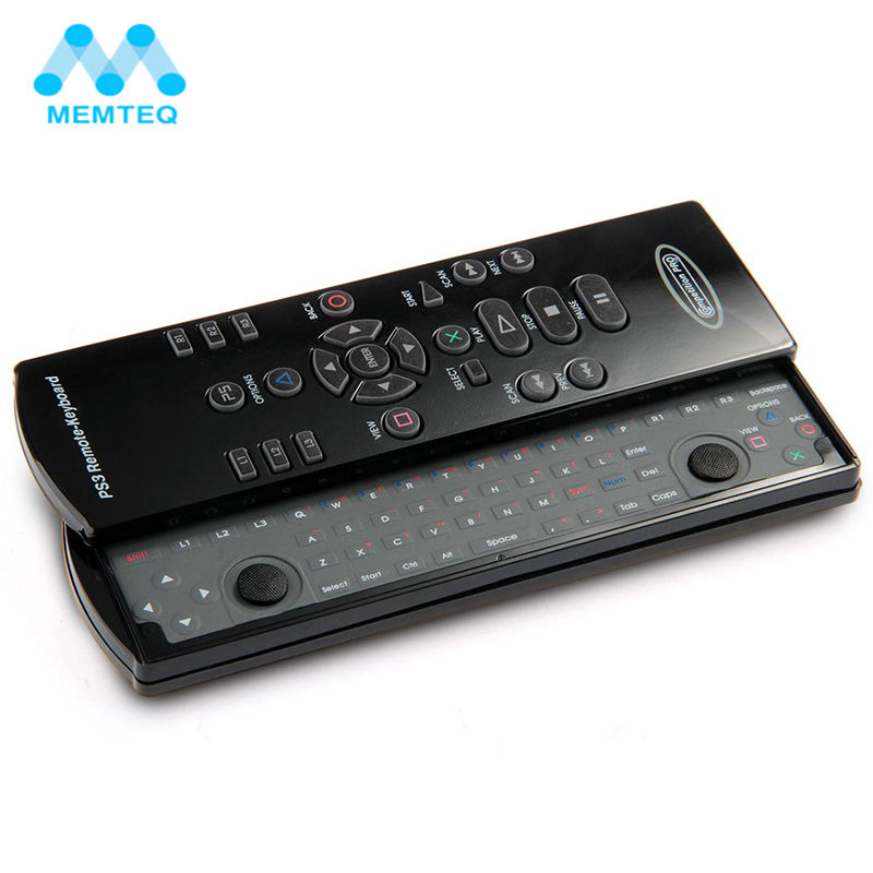 MEMTEQ Fly Air Mouse 2.4GHz Wireless Keyboard IR Remote Control Slide Out Sensing Game Combo For PC Android TV Box