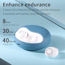 Беспроводные наушники Bluetooth наушники стереогарнитура мини спортивные наушники с микрофоном для IOS Android автоматически сопряжены