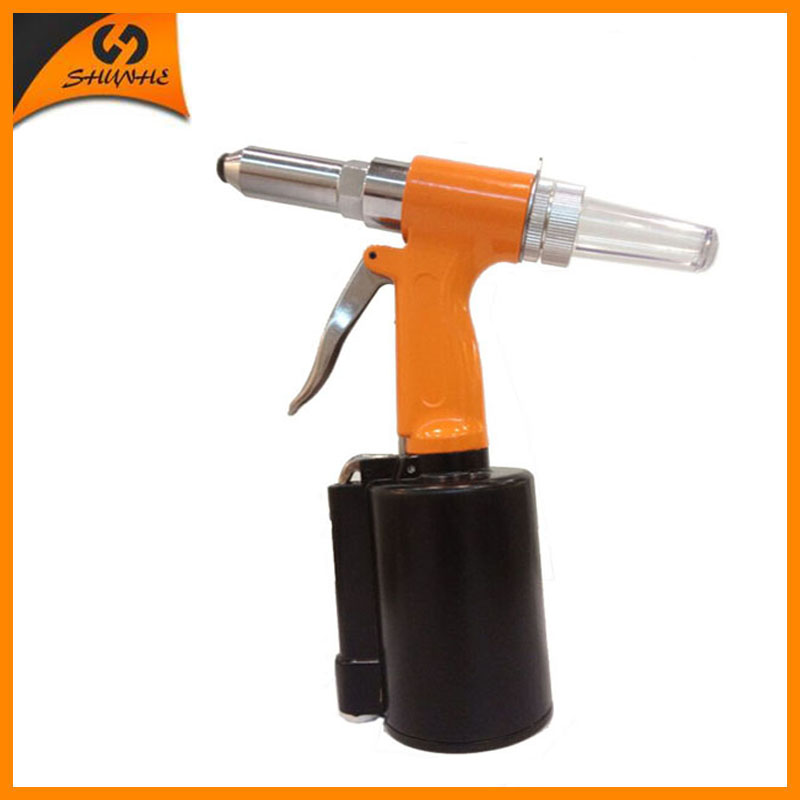 SAT6602 High Quality Pneumatic Riveter Gun Air Rivet Gun 3/16 Air Riveting Nail Tool free shipping high quality taiwan air riveter gun pneumatic riveters pneumatic rivet gun riveting tool 2 4mm 4 8mm