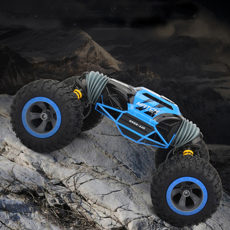 LS RC Car 4WD Truck Scale Double-sided 2.4GHz One Key Transformation All-terrain Vehicle Varanid Climbing Car Remote Control Toy