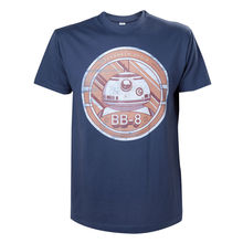 NEW! Star Wars Vii The force Awakens Bb-8 Astromech Droid T-Shirt Extra Large Bl Free shipping  Harajuku Tops Fashion Classic 35020 2069pcs star and ucs wars the bb8 bb 8 model building bricks set astromech droid compatible 05033 05027 05046 lepin