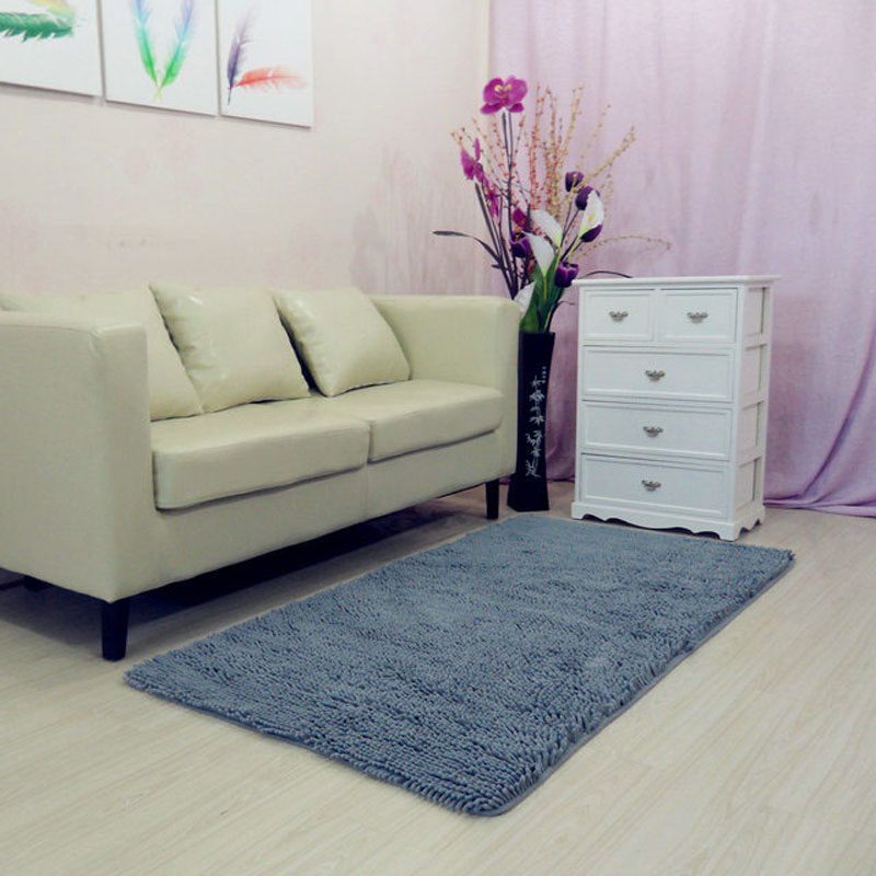 70x140cm 28quotx55quot Chenille Microfiber Living Room Carpet Rugs Machine Washed Area