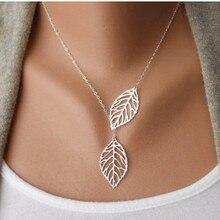 Minimalistic Leaves Necklace