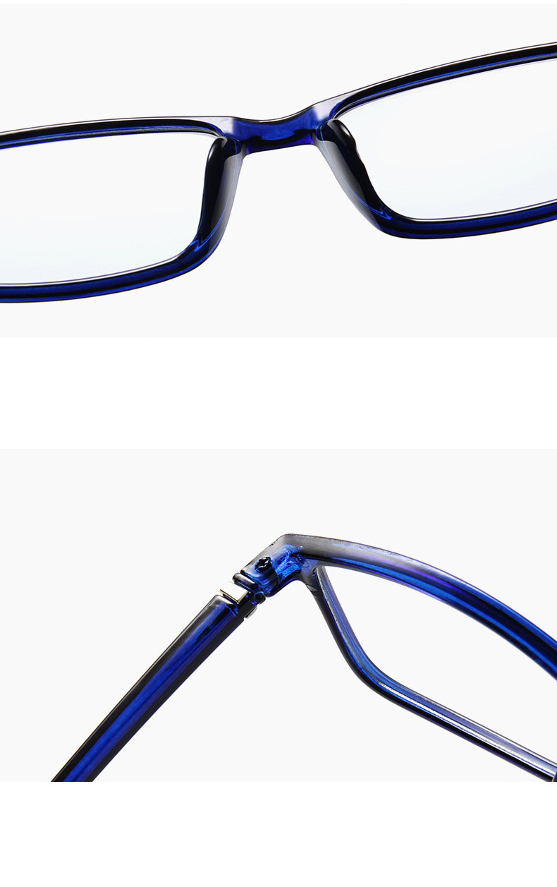 Anti Light Glasses Ray Blue Fashion Anti Blue Fatigue Protection Blocking Goggles Eye Square Radiation Computer 2019 New