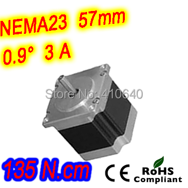 12 pieces per lot  high torque step motor 23HM30-3006S  L 76 mm Nema 23 with 0.9 deg  3 A  135 N.cm and  unipolar 6 lead wires dac715ul 16bit unipolar 28soic dac715u 715 dac71 715u dac7 715ul