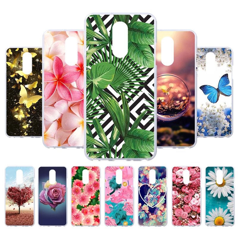 3D DIY Silicone Painted Cases For LG Q Stylus Case For LG Q Stylo 4 LG Q8 2018 LG Q Stylus Alpha Cases Back Covers Fundas Coque