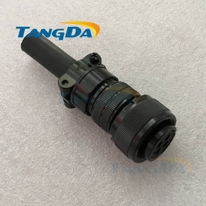 Tangda Connectors MR-PWCNS4 18-10S MS3106 3106B18-10S 4P 4PIN 4core 5015 Electric machinery Aviation plug Servo motor encoder A. ms cx2 4 sensor mr li