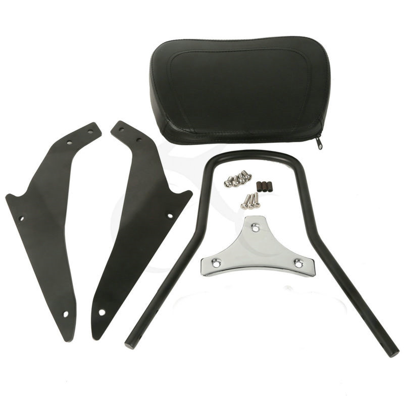 Black Detachable Sissy Bar Backrest For Suzuki Boulevard M109R 109R2m Limited Edition Models 2006 2017 Motorcycle in Seats Benches from Automobiles Motorcycles