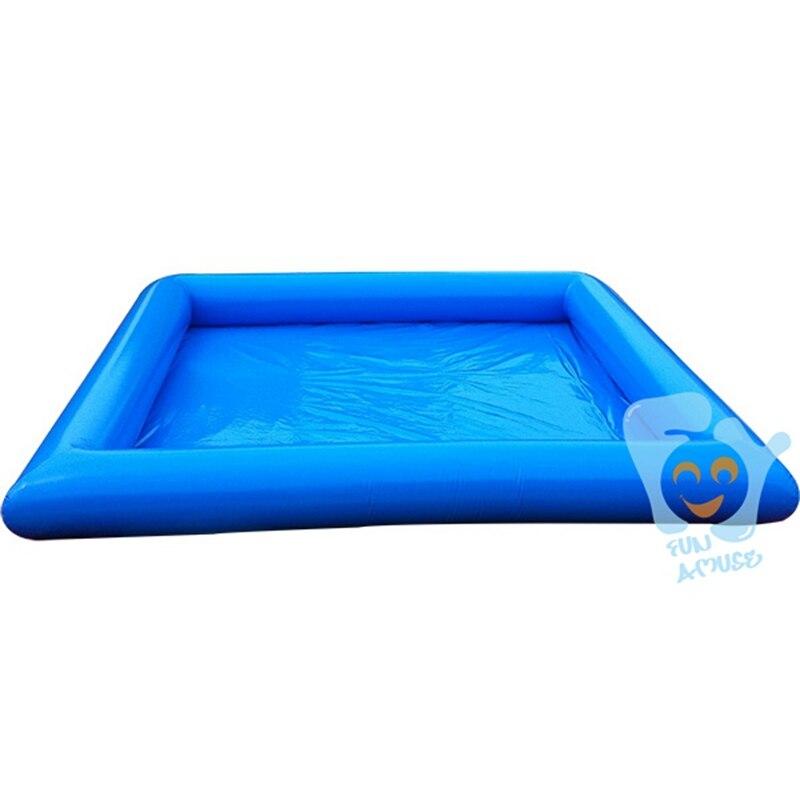 6*8 м большие надувные Бассейны Лето забавная игрушка воды бесплатная воздушный насос цвет на заказ