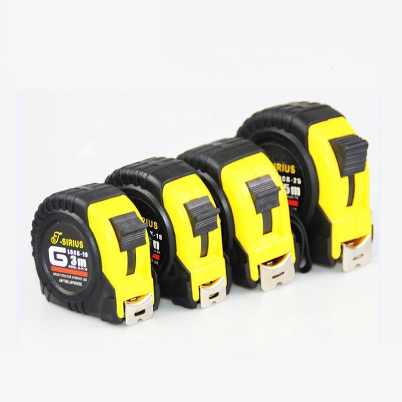 High quality 3 m / 5 m / 7.5 m / 10 m measuring tape steel tape measuring tape with lanyard Hand tools measuring tool