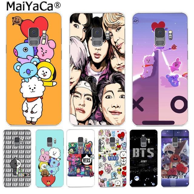 Maiyaca Cute Cartoon Bts Bt21 Cute Cartoon Phone Case Back Cover For