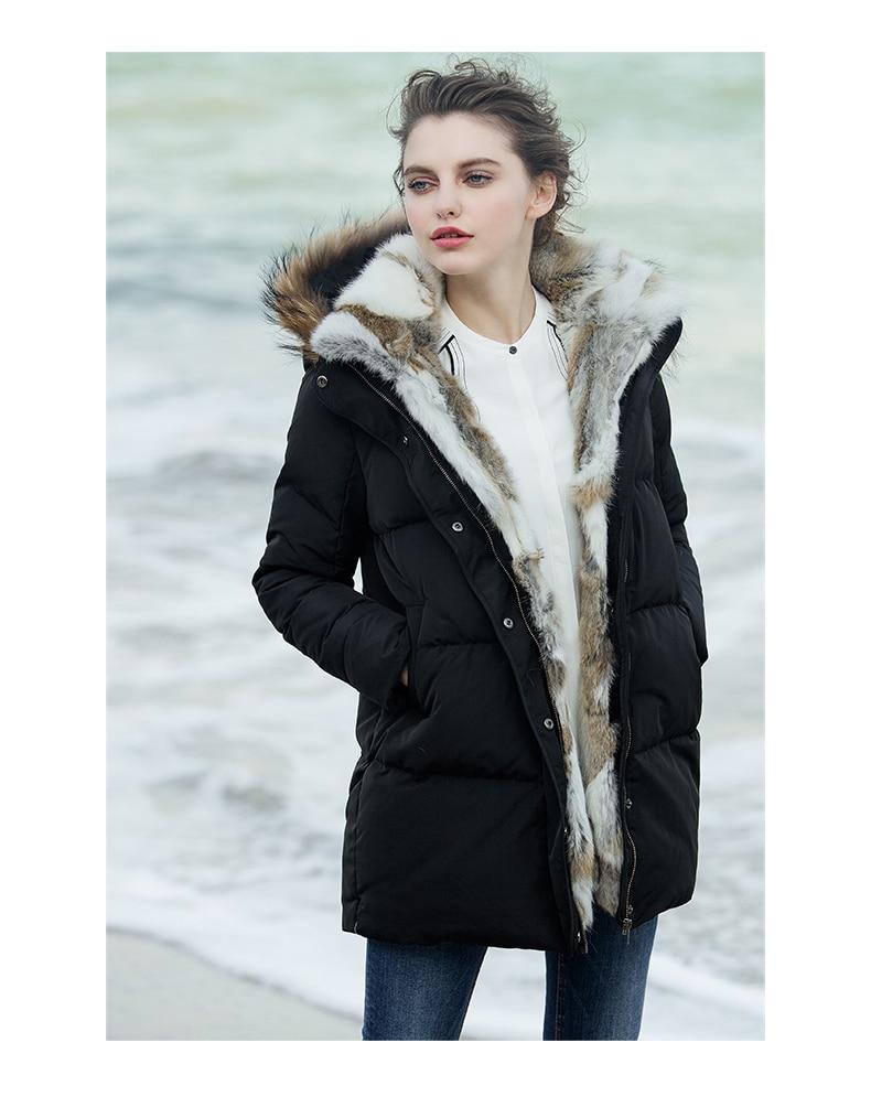 Fur Hooded Jacket