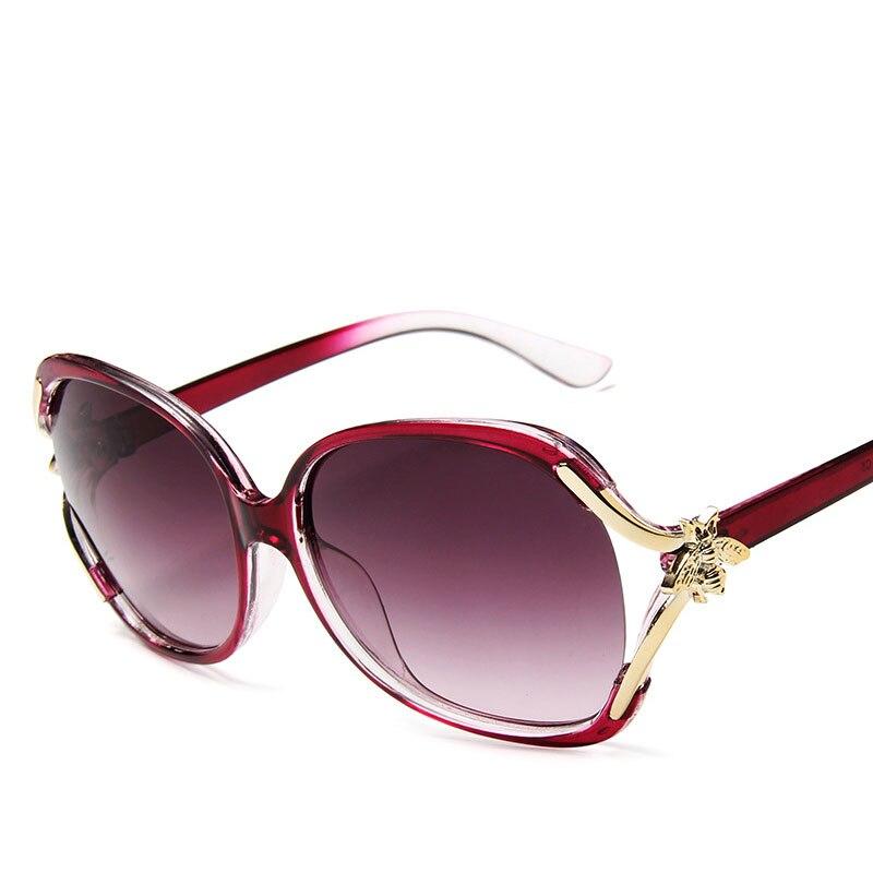 2019 Sunglasses Women Vintage Gradient Glasses Retro Cat Eye Sun Glasses Female Eyewear UV400 Buffalo Horn Glasses Plastic Adult