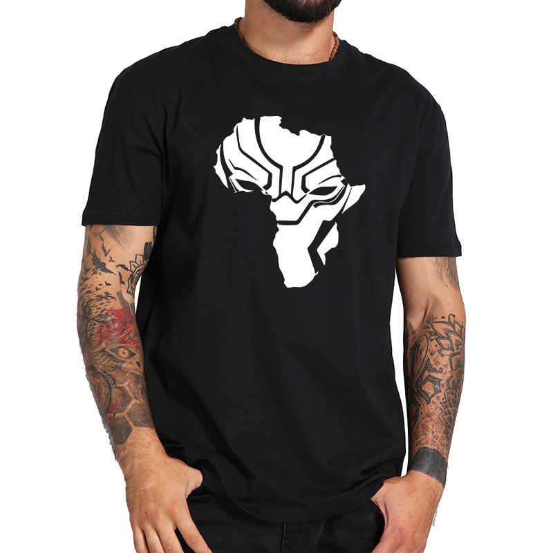 698f61088a43 Wakanda Forever T Shirt Africa Map Print T-shirt Men Cartoon Tee Fans Gift  Boys