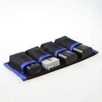 Meking bateria de lítio armazenamento bolsos bolsa saco de náilon impermeável para canon LP E6 LP E8 sony NP FW50 EN EL14 EN EL15 4|bag for canon|bag for|for canon -