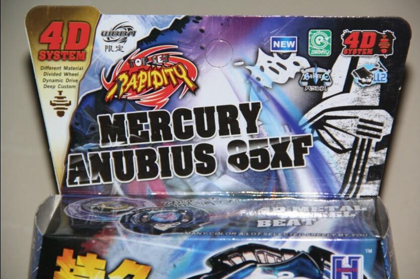 ANUBIUS TOUPIE BEYBLADE MERCURY ANUBIS- Black Blue Legend Limited Edition WBBA