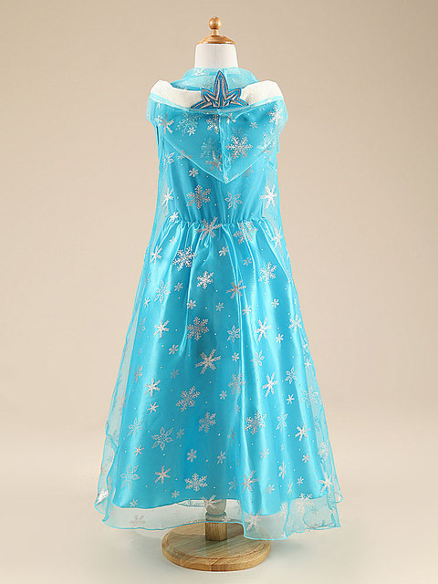 Princess Elsa Dress for Girls