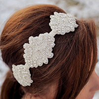 Wholesale Wedding Headband Rhinestone Headband Wedding Hair Accessory Bridal Accessories For Girl Women Crystal Headband 20pcs