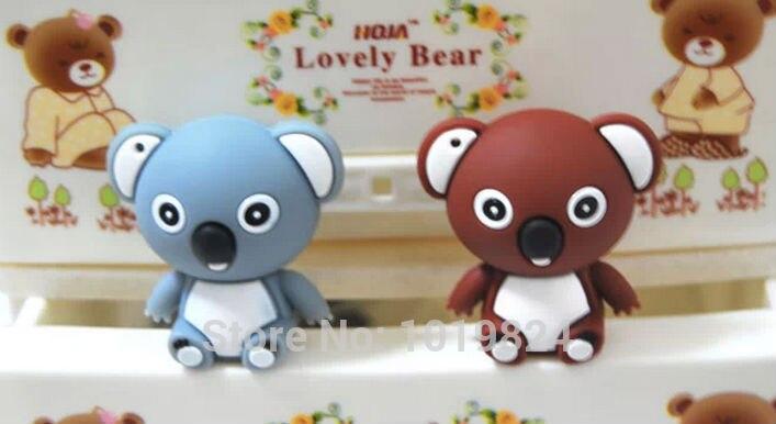 Cute koala bear usb flash drive pen drive Little cartoon model 8G/16GB USB flash Drive Memory Stick pendriveping S521