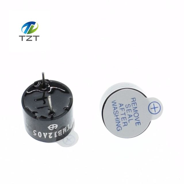 ree shipping 100pcs Active Buzzer Alarm 5v Sounder speaker Buzzer