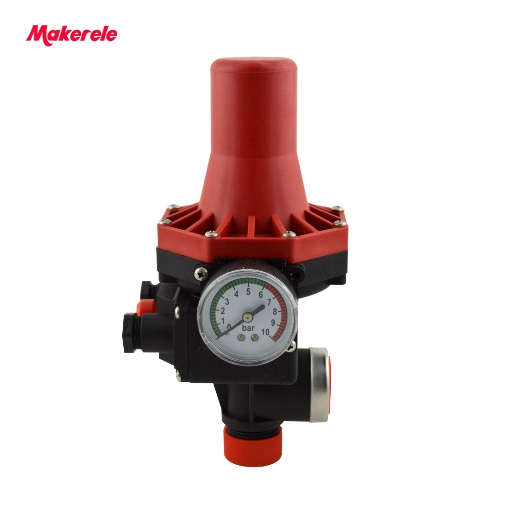 Automatic Water Pump Pressure Control Electronic Switch MK-WPPS07 Makerele For Water Pump On 1.5bar Off 10bar newest 220v 1 1kw automatic pump pressure controller electronic switch control for water pump